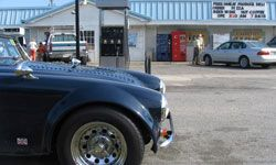 Does your classic car run on regular fuel? If not, it might be harder to get it out on the road.