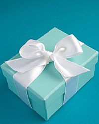 Beautiful things come in little blue packages.