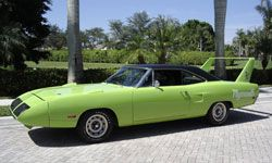 The Plymouth Superbird was rebuilt in a unique design that met the requirements of NASCAR at the time.
