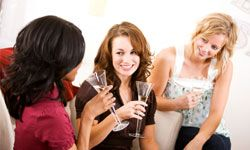 To throw a wedding shower like the class-act hostess you are, cater to the bride's interests.