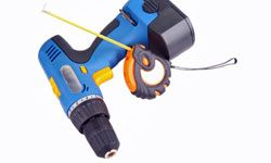 An electric screwdriver saves you time and pain.