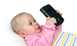 How early is too early to let your children play with your gadgets? See more gadget pictures.