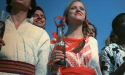 """In this classic Coca-Cola ad, singers representing countries around the globe proclaimed, """"I'd like to buy the world a Coke."""""""