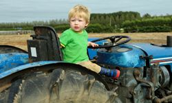A farm can be a wondrous place for a kid.
