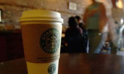 Many stores built by Starbucks are energy-efficient.