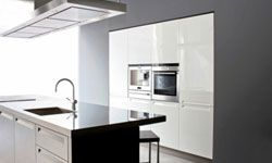 Stainless steel countertops are modern and sleek, but they require a lot of work to keep up.