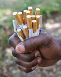 Your lungs are saying no and your skin is saying no. It's two against one, deal with it.