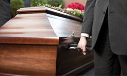 Many people place flowers on caskets in hopes that flowers will sprout in that spot in the future.