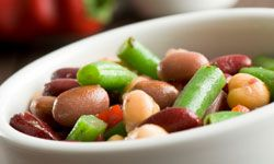 Bean salad tastes even better a day or two after it's made so the flavors have time to blend.