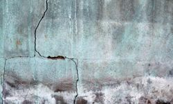 Cracks in the walls can give you an idea of the stress the house is under.