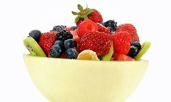 An ideal snack? Fresh fruit!