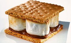 Enjoyed at home or at the reception, s'mores are winners every time.