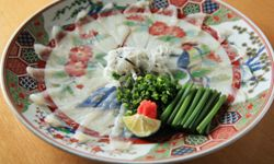 Fugu can be dangerous if not prepared properly, but that's what makes it a delicacy.
