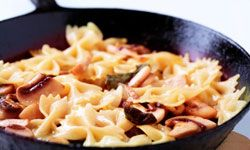 You can put just about anything into a pasta stir fry and it'll taste great!