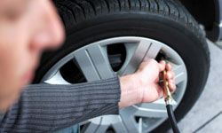 Keep your tires pumped up, and you'll save money on fuel costs over time.