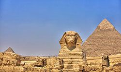 Sure, the Great Pyramid is magnificent, but ancient Egyptians can take credit for a whole lot more than that. See more pictures of famous landmarks.