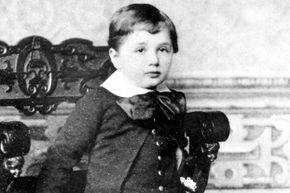 Einstein at age 3