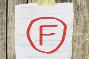 Grades get kind of confusing when school officials turn F's into A's and vice versa. A switcheroo like that may have been responsible for the rumor that Einstein flunked math.