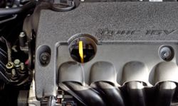 The benefit to the overhead cam setup is that it allows for more intake and exhaust valves, meaning fuel, air and exhaust can move more freely through the engine, adding power.