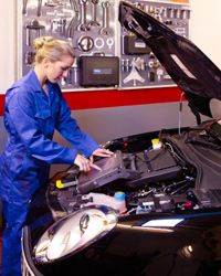 Modern cars have everything regulated by an on-board computer called an engine control unit, or ECU.