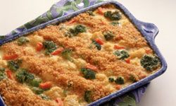 Not only are casseroles filling and delicious, if you know what you're doing, they can be made quickly. See more easy weeknight meals pictures.