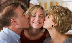 Mom will be wrapped up in wedding plans with you, so set aside time for Dad.
