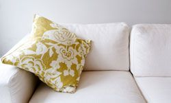 Spruce up your couch with pillows you've made by hand.