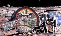 This NASA artist's rendering of an inflatable lunar habitat from 1989 hasn't come to fruition yet, but will a moon colony eventually become a reality?