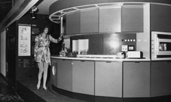 Whatever happened to this circular kitchen design from the 1960s? Want to learn more? Check out these home design pictures!