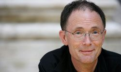 William Gibson attends the Festival of Literature at Literature House in Rome, Italy.