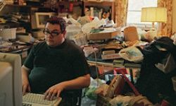 Hoarding behavior eventually limits everyday activities as stuff piles up.