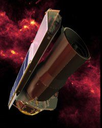 Pictured: Spitzer Space Telescope. (Thanks a lot!) See more space exploration pictures.