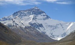 Pictured: Mount Everest. (Pipsqueak!)