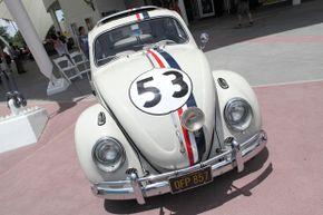 Actor Dean Jones drove Herbie in the early Walt Disney family films.