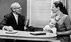 Dr. Benjamin Spock, father of parenting.
