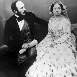 Prince consort Albert and Queen Victoria had nine children together.