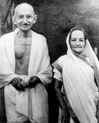Gandhi and Katsurba had four sons before he took a vow of celibacy.