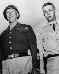 George S. Patton III followed his father's military footsteps.