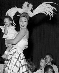 Josephine Baker adopted 12 children from around the world.