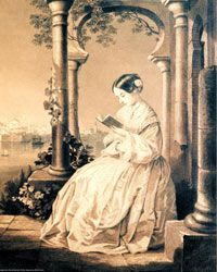 Florence Nightingale has been memorialized in countless memorials and paintings, such as this circa 1857 portrait.
