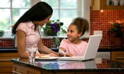 Little one too young for Facebook? Share a page with her and teach her safe social networking tips.