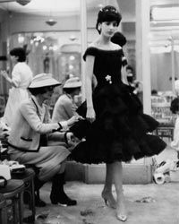 """In 1927, French fashion designer Coco Chanel debuted a simple, elegant crepe de Chine black sheath that has become the """"little black dress"""" millions of women the world over count as a wardrobe staple. Merci, Madame Chanel!"""