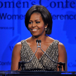 Michelle Obama isn't just the first lady -- she's a fashion icon!