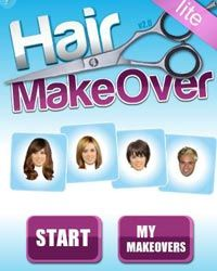 The Hair Makeover app lets you test-drive hundreds of new hairstyles -- without risking a bad haircut.