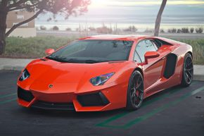 With a top-speed of 217 miles per hour (349.2 kilometers per hour), the Lamborghini Aventador is fast -- but not fast enough to make our list.