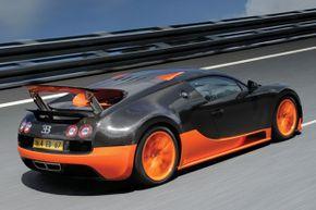 The Bugatti Veyron Super Sport