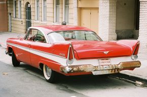 """Movie fans will remember that """"Christine"""" had a killer personality."""