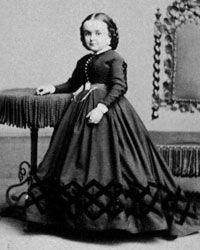 Lavinia Warren, wife of Gen. Tom Thumb.