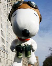 Snoopy's World War I Flying Ace gear is essential when he's  battling the infamous Red Baron!