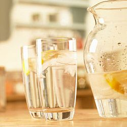 Both your doctor and your partner would recommend drinking at least 67 fluid ounces of water every day.